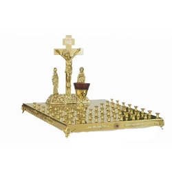 Крышка поминального стола 50 свечей