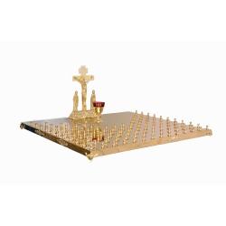 Крышка поминального стола 112 свечей