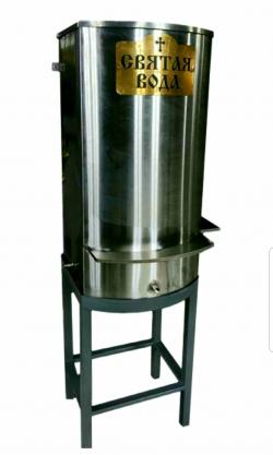 Бак для Святой воды 400 литров прямоугольный