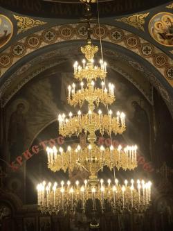 Паникадило 5 ярусов 108 свечей
